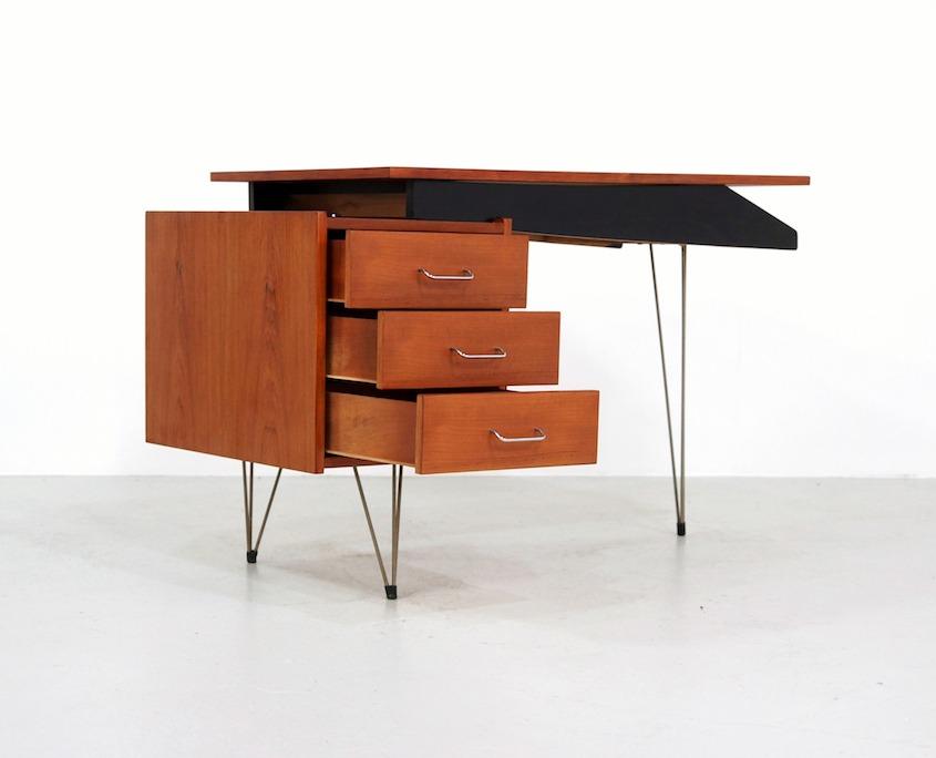 Vintage Pastoe Hairpin Desk by Cees Braakman