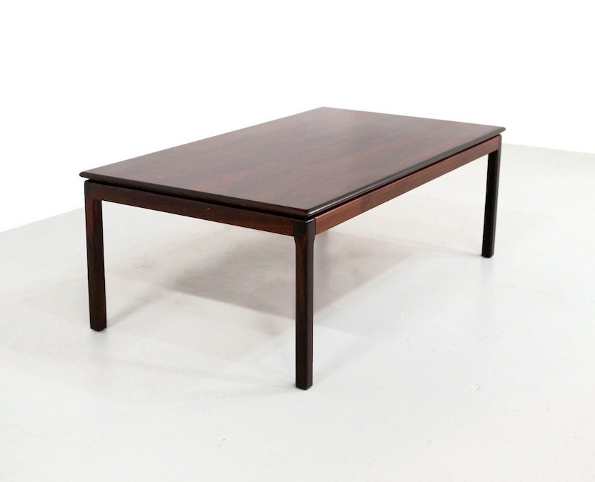 Rosewood Coffee Table by Tomter Bruksbo for Haug Snekkeri