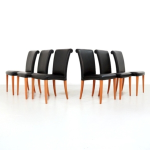 Poltrona Frau Vittoria Dining Chairs set of 6