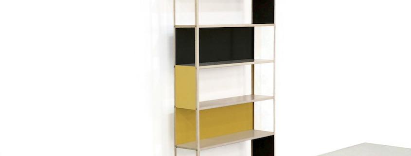 Metal Friso Kramer Asmeta Cabinet 1950s