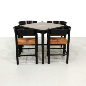 Dining set by Mogens Lassen for Fritz Hansen