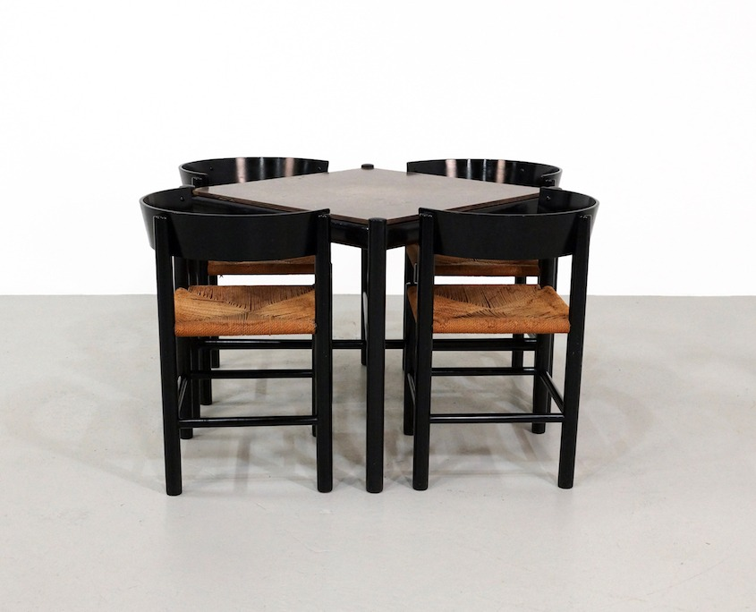 Dining Set by Mogens Lassen for Fritz Hansen 1964