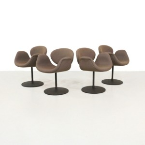Vintage Little Tulip Chairs by Pierre Paulin for Artifort