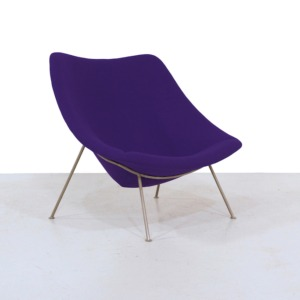 Vintage Oyster Lounge Chair by Pierre Paulin for Artifort