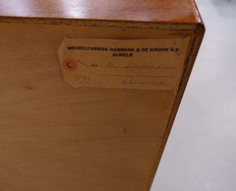 Vintage Teak Highboard by de Kroon