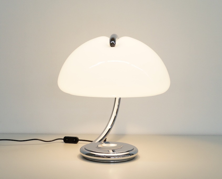 Vintage Serpente Table Lamp by Elio Martinelli for Martinelli Luce