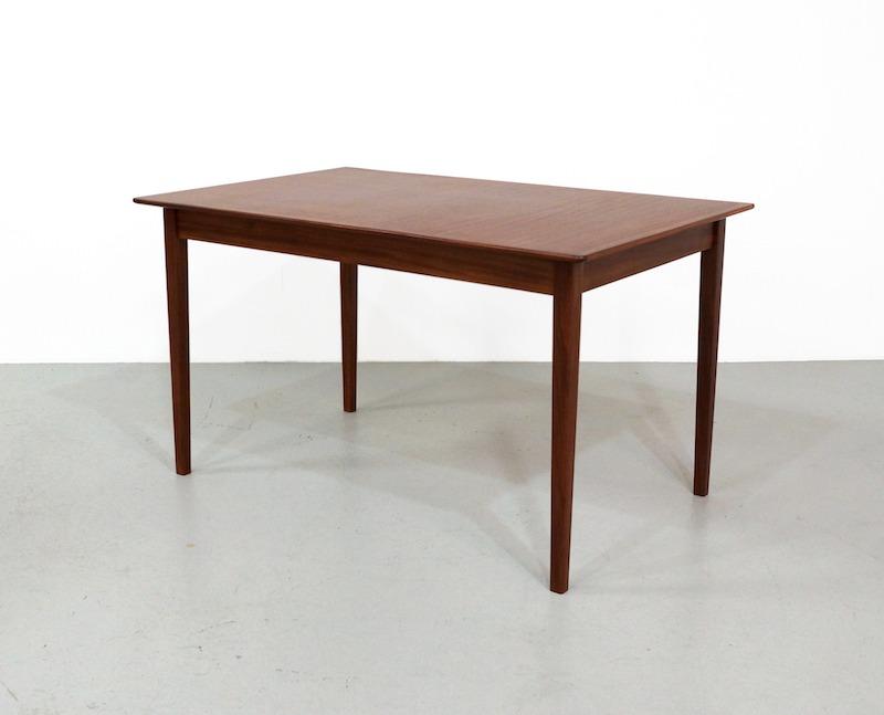 Mid-Century Dining Table in Teak