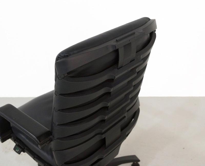 Black Antropovarius Office Chair by Ferdinand A. Porsche for Poltrona Frau