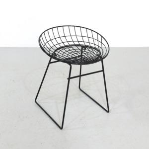 Vintage Pastoe Wire Stool Design Cees Braakman