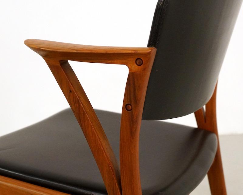 Vintage Teak Dining Chairs Design Kai Kristiansen for Bovenkamp, set of 4