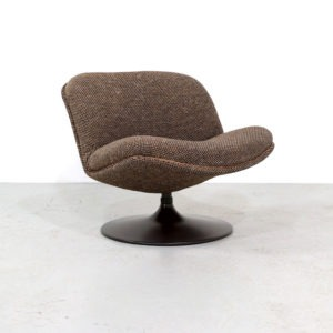 Vintage Artifort 508 Lounge Chair by Geoffrey Harcourt