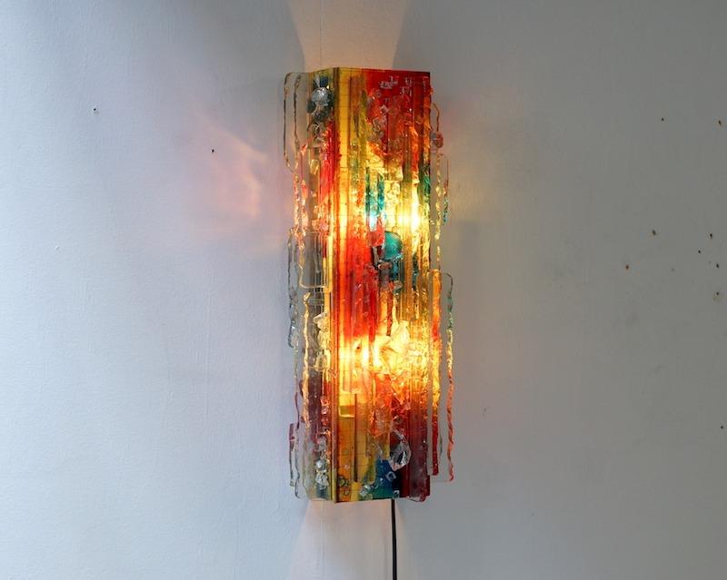 Raak Chartres Wall Lamp by Willem van Oyen 1960s