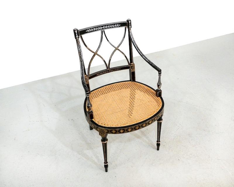 1950s Chiavari armchair