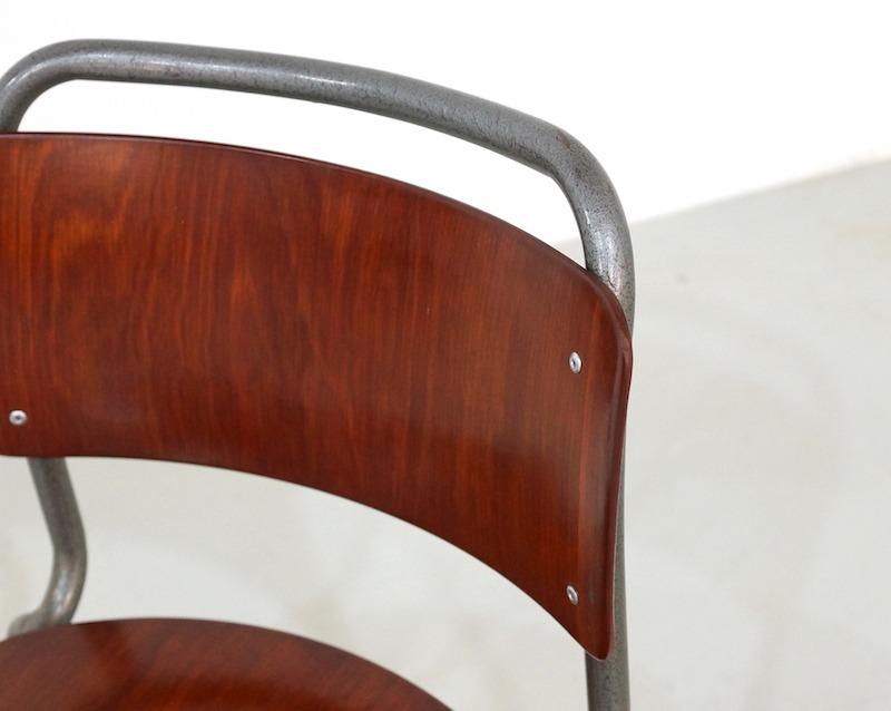 Vintage Gispen 106 Chairs TU Delft