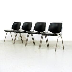 Castelli DSC 106 side chair by Giancarlo Piretti