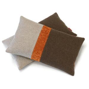 modern wool felted lumbar pillow cover 30x50cm by EllaOsix