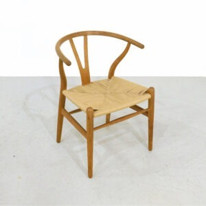 Vintage CH24 Wishbone Chair by Hans Wegner for Carl Hansen 1970s