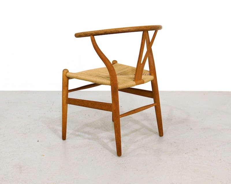 Vintage CH24 Wishbone Chair by Hans Wegner for Carl Hansen 1970s