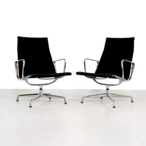 Vintage Vitra EA115 lounge chair by Charles Eames
